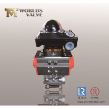 Stainless Steel Ball Valve with Position Indicator