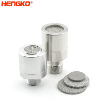 HENGKO Combustible and Toxic Gas Sensor Protective Housing High Quality Waterproof Stainless Steel 316 316L 10 Power Sintering