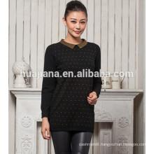 2015 fashion woman's cashmere long sweater