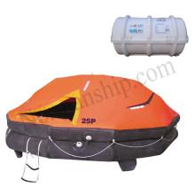 solas liferaft yacht liferaft Inflatable 25 person drop type life raft