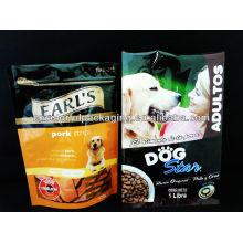 Saco de empacotamento de alimento para cães 500g.1kg / Ecofriendly alimento para cães com zíper