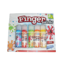 5pcs colorful kids drawing painting Non-toxic Water Color Finger Paint / Water Based Paint