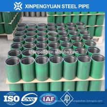 Boîtier de tuyauterie 5 pi 5-1 / 2 '' P110 couplage sans soudure / tuyau d'enveloppe pour transport de pétrole / gaz