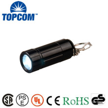 Preço de Fábrica Portable Mini Keychain USB Rechargeable Led Tocha