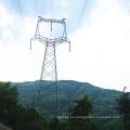 220 kV Circuito único Tipo de cabeza de gato Ángulo Torre de acero