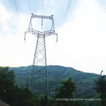 220 kV Owl-Type Angle Steel Power Transmission Tower