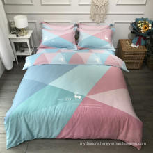 New Product Cheap Price Bed Linen Cotton Printed Comfortable for Single Bed Bedsheet