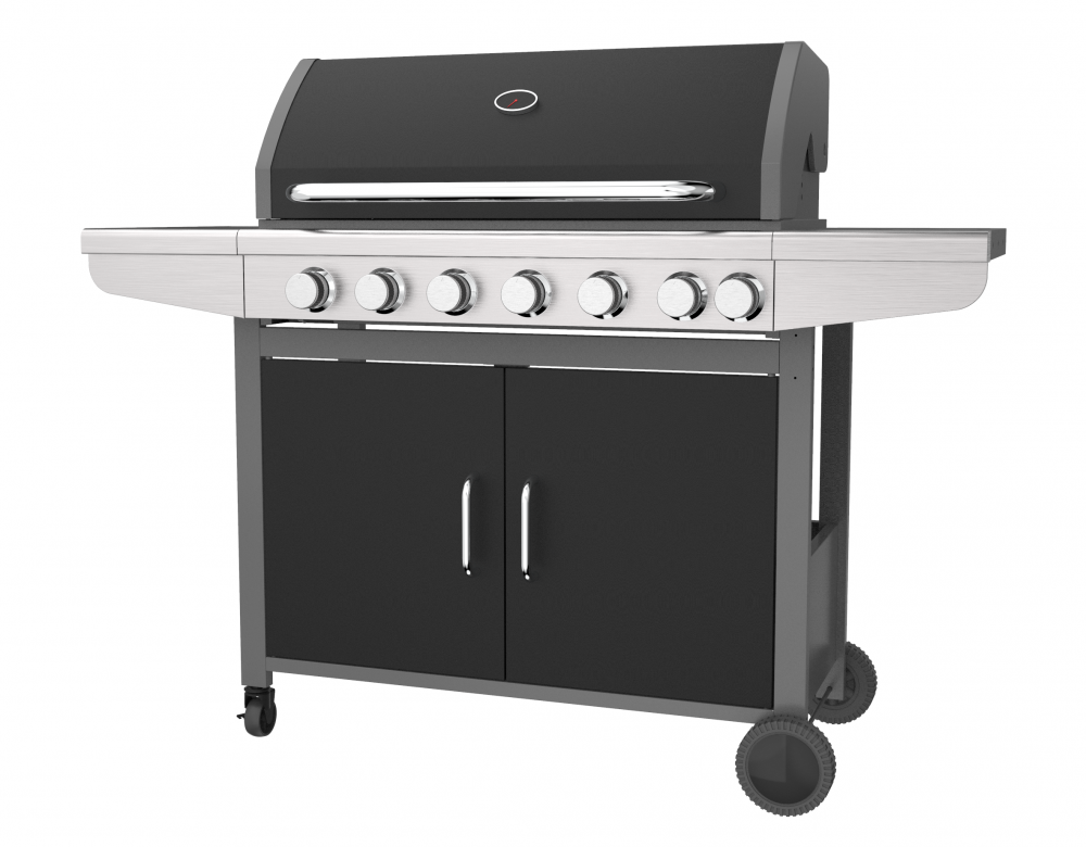 Outdoor 6 Burner Gas Grill