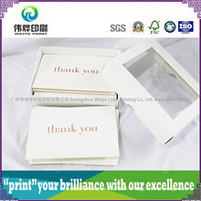 Letter Promotional Printing Thank You / Greetings / Invitation Paper Card