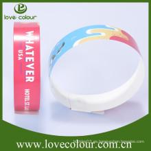 Pulsera de papel personalizado a medida para fiestas y eventos / pulsera tyvek