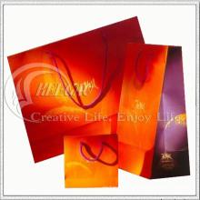 Diseño Fiery de bolsa de papel (KG-PB032)