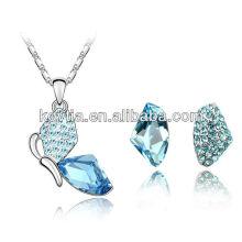 Ensemble de bijoux en cristal autrichienne