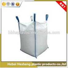 Chine Sac jumbo tissé de pp pour emballer le grand sac tissé de polypropylène de polypropylène de 1 tonne / sac jumbo