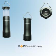 Lanterna elétrica de alumínio do diodo emissor de luz do poder superior 1W (POPPAS-1084)