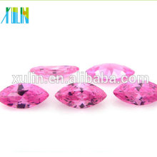 clear pink cz fashionable jewelry marquise shape cubic zirconia new products