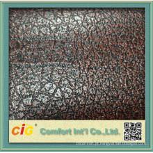 2 cores que gravam o projeto novo do vinil do couro do PVC