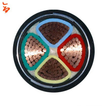0.6/1KV 4 Cores Copper Conductor XLPE Insulated SWA Armoured PVC sheath Power Cable 120mm2