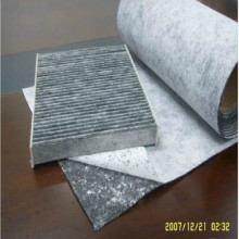 HVAC G4-F9 Non Woven Activated Carbon Fabric