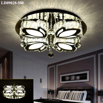lampadario decorativo moderno a led in cristallo