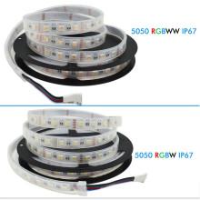 DC12V RGBW LED Strip 5050 60LED/m 5M LED Tape 4 color in IP67 waterproof