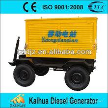 china manufacturer 40KW trailer generator YUCHAI YC4D60-D21