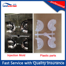 Clear Plastic Parts PC Injection Moulding