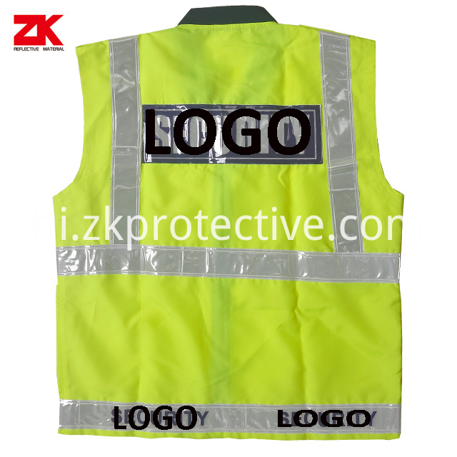 Oxford En471 Safety Vest