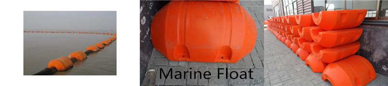 Marine hdpe float