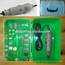 135w 217pcs GS CE ETL Aprovação Multipurpose Electric Mini Grinder Kit Acessório Conjunto Power Grinding Hobby Rotary Tool