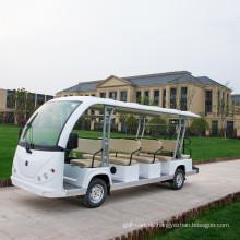 Coche turístico del coche eléctrico de visita turístico de 6-12 asientos con la puerta