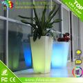 Color Changing LED Flower Pot for Home Decoration