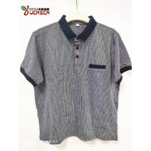 65%Poly 35%Cotton Jacquard Fabric With Contrast Pocket