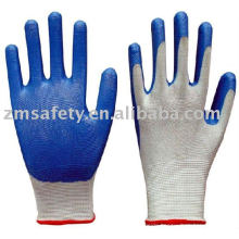 Nitrile dipped glove