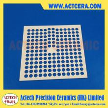 Precisión láser de corte y mecanizado de substrato de cerámica de alúmina