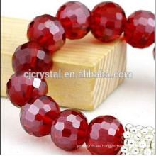 Cuentas de cristal redondas de alta calidad baratos