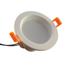 3W Recessed Color Temperature Changeable LED Downlight 2inch
