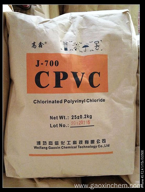 CPVC resin with pipes and fittings