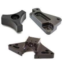 High-quality color anodized aluminum part oem milled black anodized aluminum machining laser service