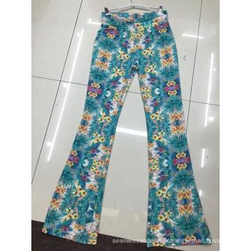 2016 Spring Fashion Laides Print Jeans Pants Denim Leggings