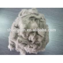 Dehaired Nerz Wolle Hersteller, Nerz Wolle Faser 14.5mic / 10mm zum Verkauf