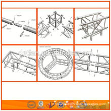 lighting aluminum truss system for truss exhibition stand and other usage manufacturer