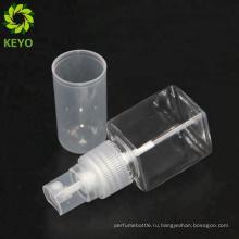 Пластиковый материал и крема для ухода за кожей использовать новую форму квадрата любимчика бутылки любимчика с масляным насосом