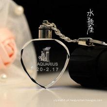 K9 coração cristal chaveiro logotipo livre