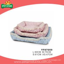 Beau lit de chien lavable à la mode, produit pour animaux (YF87059)