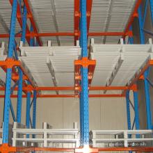 Unidad de almacenamiento de almacén en sistema de bastidor de paleta