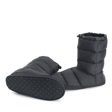 Waterproof Camping Down Indoor Slippers Boots for Men