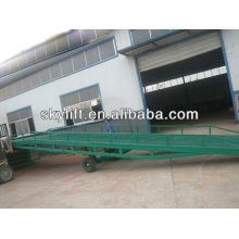 Yard ramp ,mobile loading ramp for container with strong support