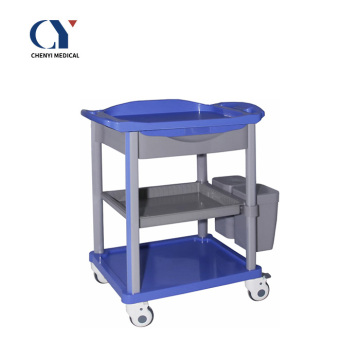 Hospital ABS Surgical Instrument Nursing Clinic Trolley