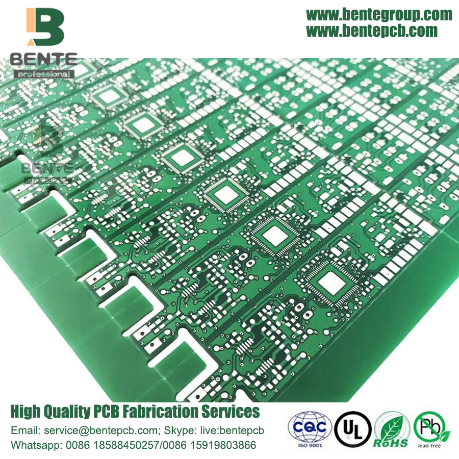High Precision Multilayer PCB HASL Green