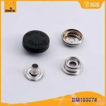 Logo personnalisé Nylon Cap Snap Buttons BM10807